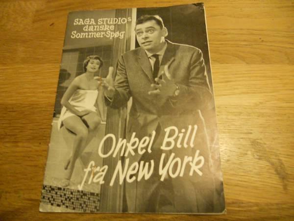 Onekl Bill fra New York - klassisk dansk lystspil - en del af den danske filmskat