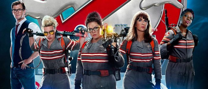 Ghostbusters fra 2016. Female reboot