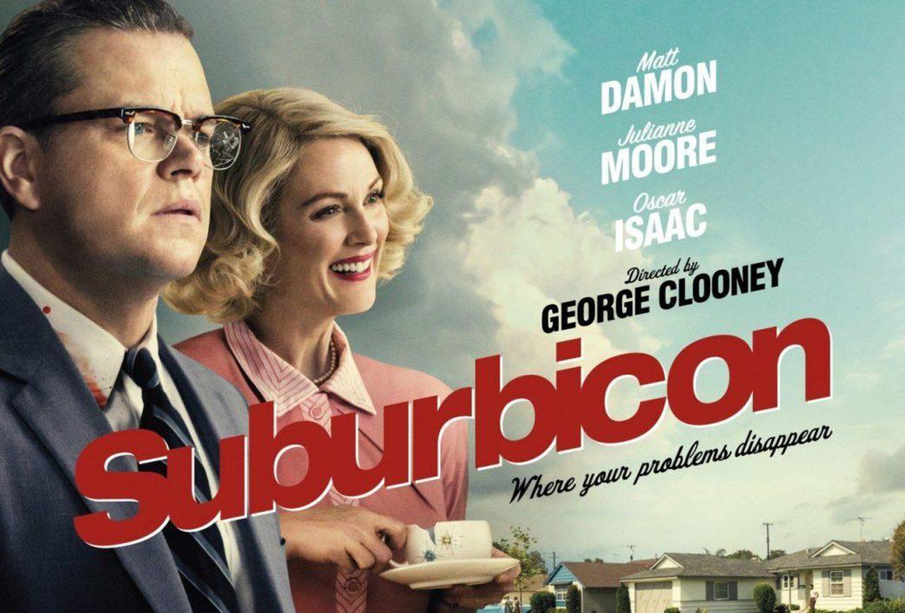 Suburbicon med Matt Damon & Julianne Moore