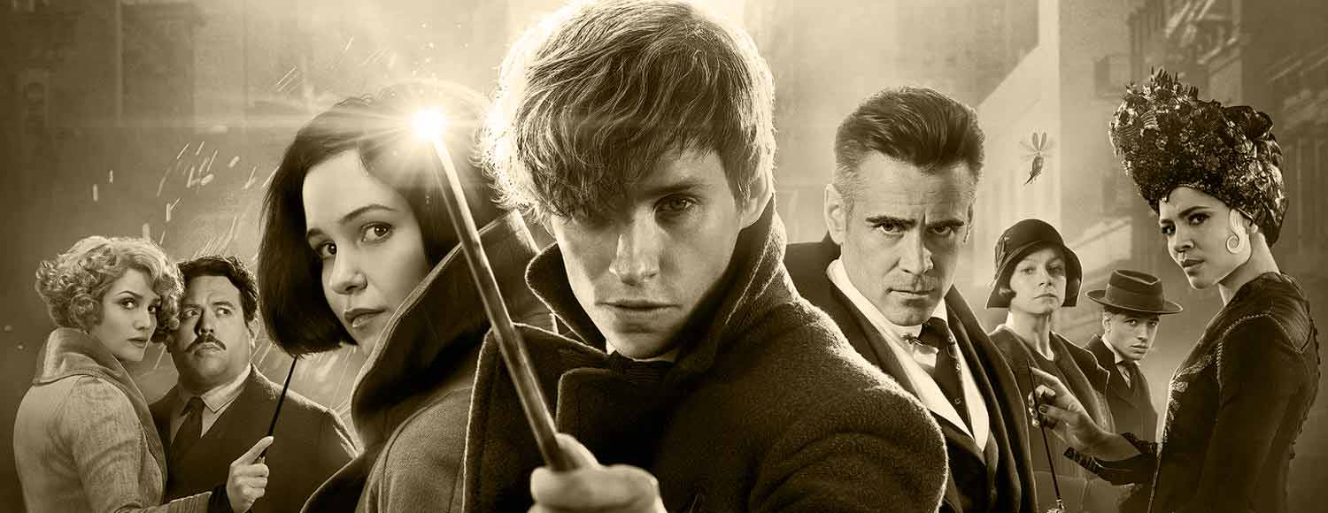 Fantastic beasts and where to find them af J.K. Rowling