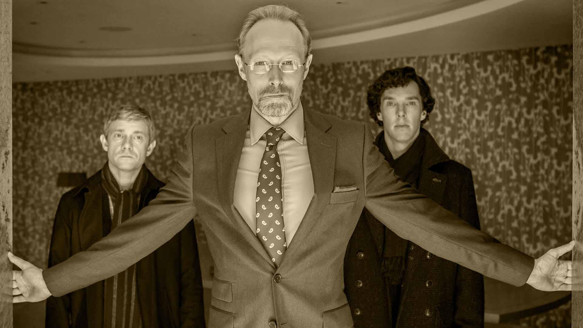 Sherlock Sæson 3 har bl.a. Lars Mikkelsen på rollelisten