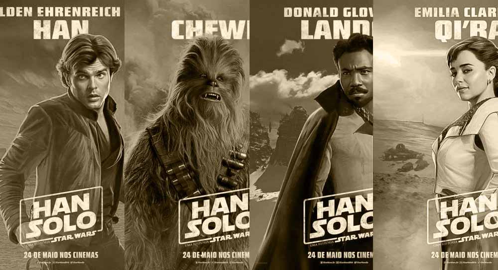 Han Solo filmen - Solo: A Star Wars Story