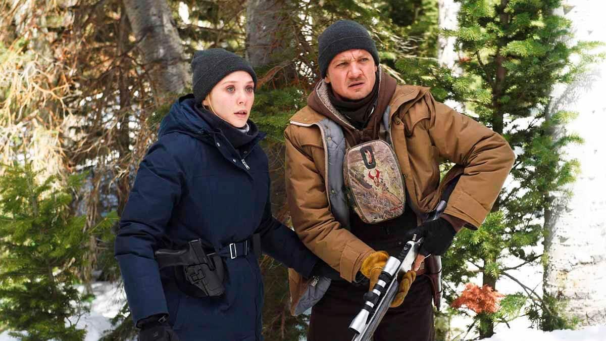 Wind River med Elizabeth Olsen & Jeremy Renner