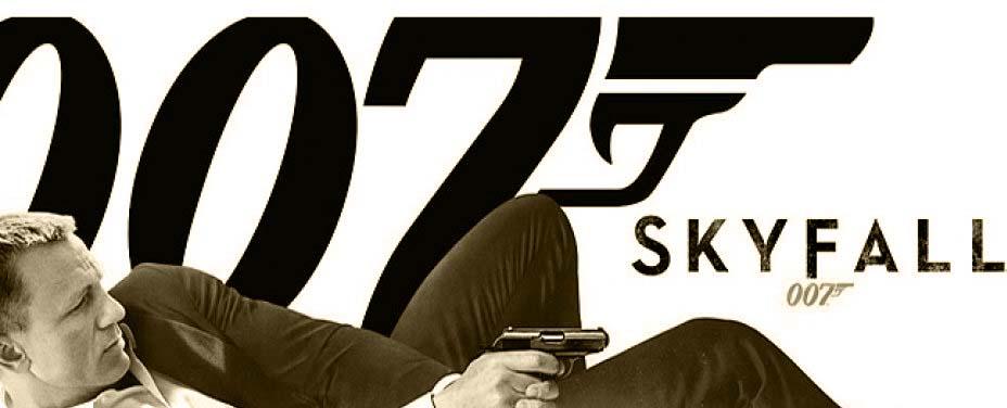 Skyfall er film nr. 3 med Daniel Craig som ikoniske James Bond med agentnummer 007