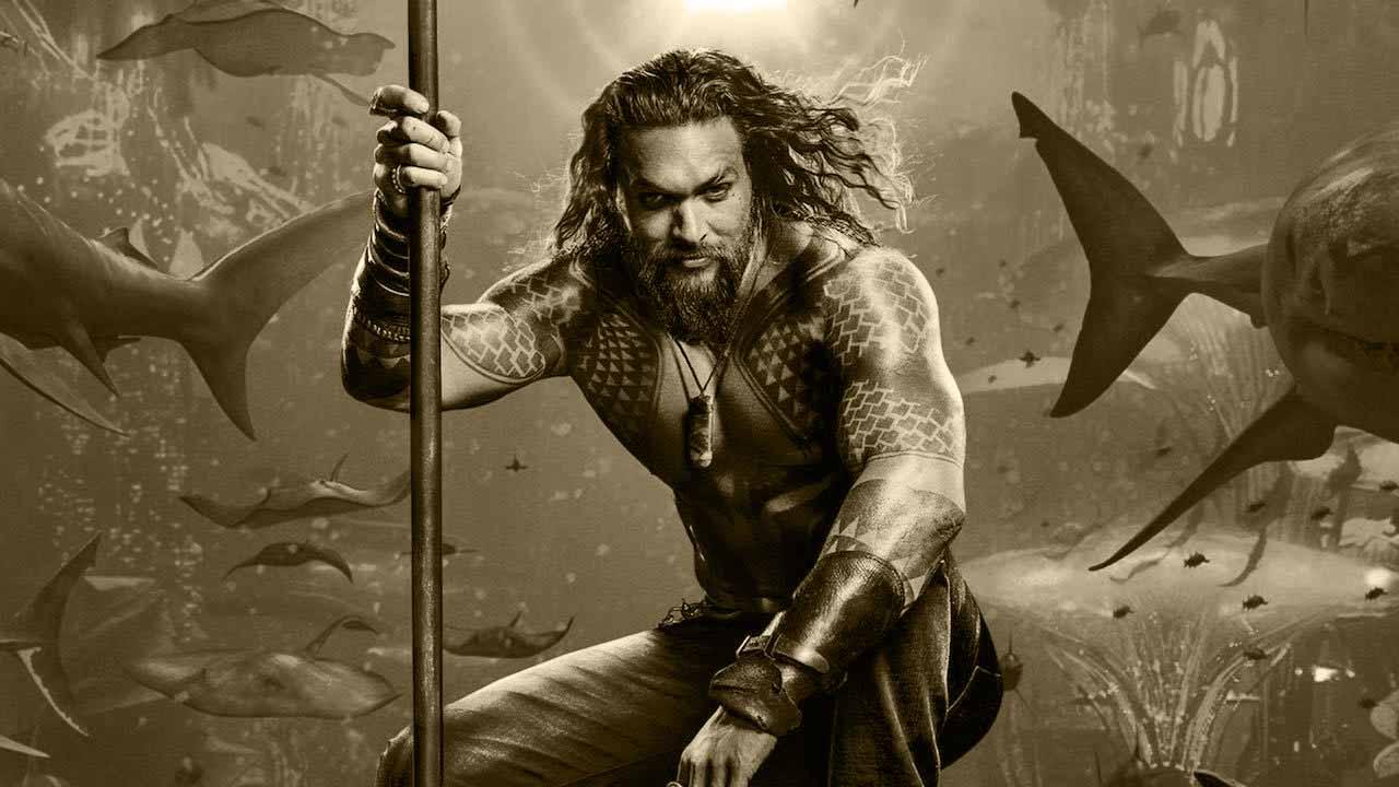 Jason Momoa er den perfekte Aquaman
