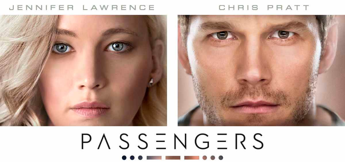 Passengers med Chris Pratt og Jennifer Lawrence