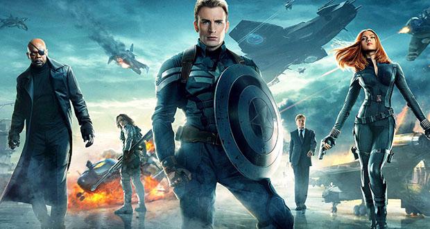 Captain America, Nick Fury og Black Widow