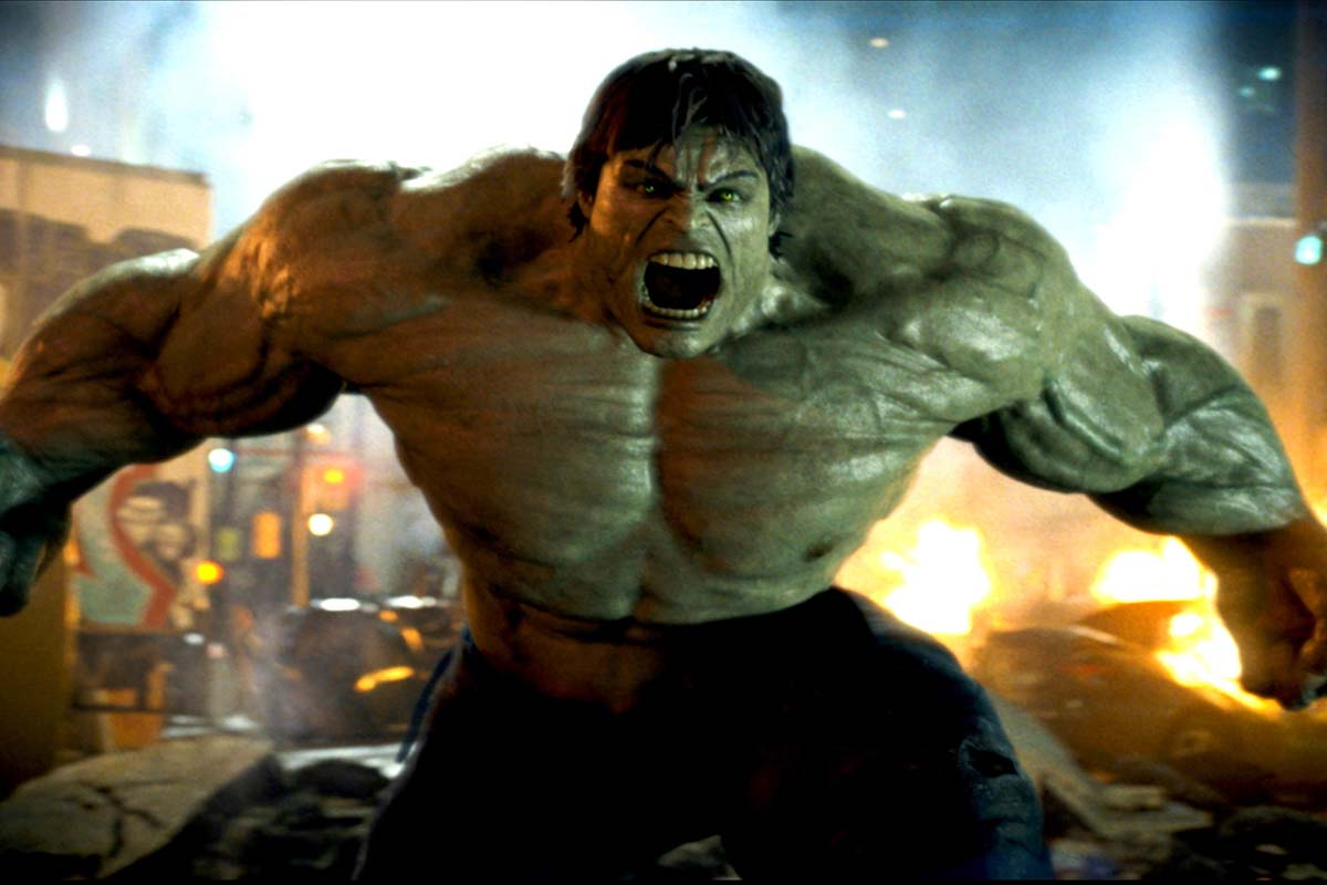 The Incredible Hulk fra 2008 var film nummer 2 i MCU fase 1