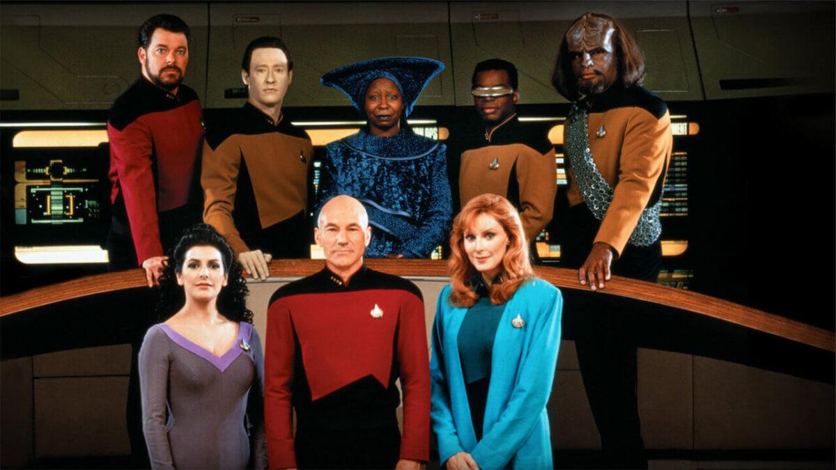 De medvirkende i Star Trek The Next Generation